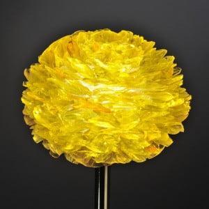 Pétales de verre jaune