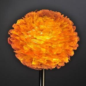 Pétales de verre orange